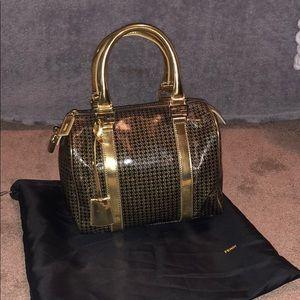 3e657cebd1 Fendi Baulotto Tube Micro Zucca Vintage Bag  RARE